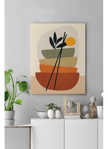 MarkaEv Canvas Modern Tablo 0174 Renkli
